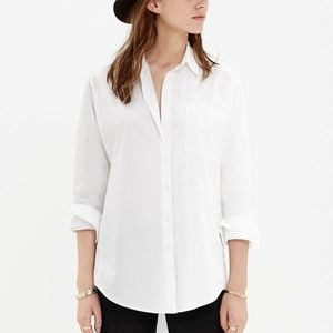 NWOT Drapey Oversized Button Up